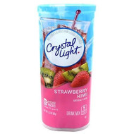 Crystal Light Tropical Strawberry Kiwi 12 Qt, 2.3-Ounce Packages (Pack Of 4)