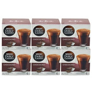 Dolce Gusto Chococino Capsules For The Dolce Gusto Machine By Nescafe (Case of 6 packages; 96 Capsules Total)