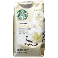 Starbucks Natural Fusions Vanilla Ground Coffee, 11 Ounce (Pack of 2)
