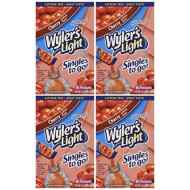 Wyler'S Light Cherry Singles To Go (8 Packets Each Box) Four Boxes