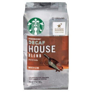 Starbucks Decaf Ground Coffee, House Blend, 12 OZ (Pack - 1)