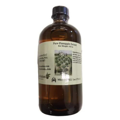 Pure Pineapple Extract, 8 Ounce