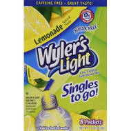 Wyler'S Light Lemonade Singles To Go (8 Packets Each Box) Four Boxes