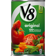 V8 Original 100% Vegetable Juice, 46 Oz. Bottle (Pack Of 12)
