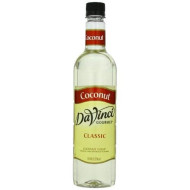 Davinci Gourmet Classic Syrup, Coconut, 25.4 Ounce (Pack Of 3)