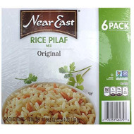 Near East 100 Percent Natural Rice Pilaf Original Mix 6.09 Ounce Boxes (Pack Of 6)