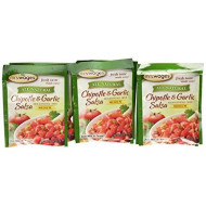 Mrs. Wages Chipotle &Amp; Garlic Salsa Mix, 0.8-Ounce Pouches (Pack Of 12)