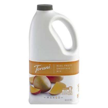 Torani Mango Real Fruit Smoothie Mix 64 Ounces | Torani