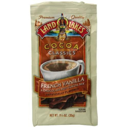 Land O Lakes Cocoa Classics French Vanilla and Chocolate Hot Cocoa Mix (VALUE PACK of 36)