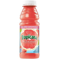 Tropicana Ruby Red Grapefruit Juice Drink, 15.2 Fl Oz Bottles, (Pack Of 12)
