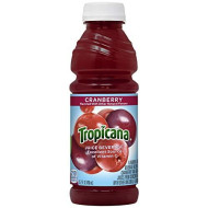 Tropicana Cranberry Juice Drink, 15.2 Fl Oz Bottles, (Pack Of 12)