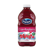 Ocean Spray Cran-Raspberry Cranberry Raspberry Juice Drink, 64 Ounce Bottles (Pack Of 8)