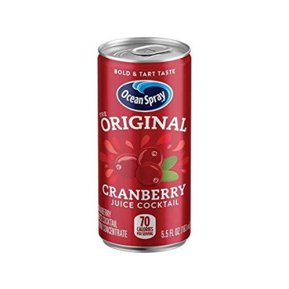 Ocean Spray Cranberry Juice Cocktail Mini Cans, 5.5 Ounce (Pack of 48)