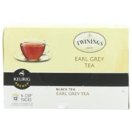 Twinings of London Earl Grey K-Cups for Keurig, 24 Count ( Pack of 3)
