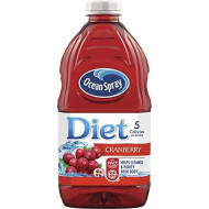 Ocean Spray Diet Cranberry Spray, 64-Ounce Bottles (Pack Of 8)