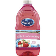 Ocean Spray White Cranberry Strawberry Juice, 64-Ounce Bottles (Pack of 8)