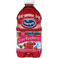 Ocean Spray Cranberry Pacific Raspberry Drink 100%, 64-Ounce Bottles (Pack Of 8)