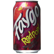 Faygo Redpop Soda Pop, 12-Pack, 12-Oz. Cans