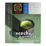 Yamamotoyama Sencha Green Tea Pyramid Bag, 0.81-Ounce Boxes (Pack of 3)