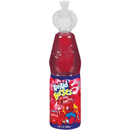 Kool-Aid Bursts, Cherry, 6.75-Ounce Bottles (Pack of 12)