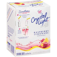 Crystal Light Raspberry Lemonade Drink Mix (120 Packets, 4 Boxes Of 30)