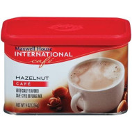 Maxwell House International Coffee Hazelnut Caf?, 9-Ounce Cans (Pack of 6)