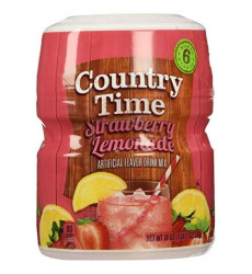 Country Time Strawberry Lemonade Drink Mix, 18 Ounce