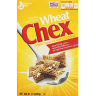 General Mills Chex Cereal, Wheat, 14 oz (Pack of 4)