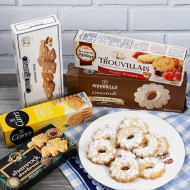 European Cookie Assortment (1.4 pound) - Europe's best sweets - Cookies from Francy Italy, Belgium, Ireland, and England