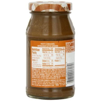 Smucker'S Hot Caramel Flavored Topping, 12-Ounce (Pack Of 6)