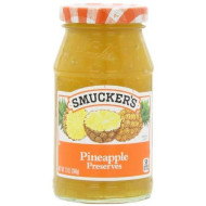 Smucker'S  Pineapple Preserves, 12-Ounce (Pack Of 6)