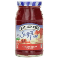 Smucker'S Sugar Free Strawberry Flavored Topping, 10-Ounce (Pack Of 6)