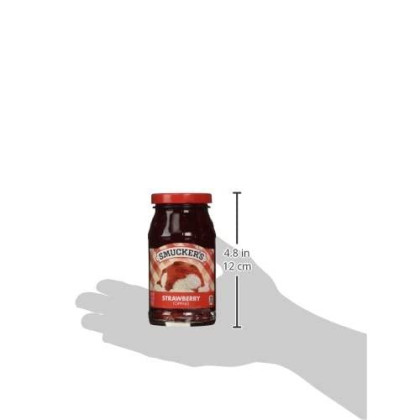 Smucker'S Strawberry Flavored Topping, 11.75-Ounce (Pack Of 6)