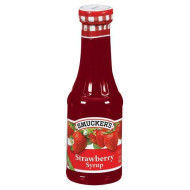 Smucker's  Strawberry Syrup, 12-Ounce Glass (Pack of 6)