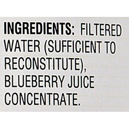 Rw Knudsen Just Juices Just Blueberry Orgnc Multiserve 100% Juice 32 Oz