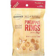 Woodstock Farms Pineapple Rings (13 Oz (369G)), Natural Dried Fruits