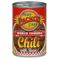 Tony Packo Chili with Beans, 15-Ounce (Pack of 6)