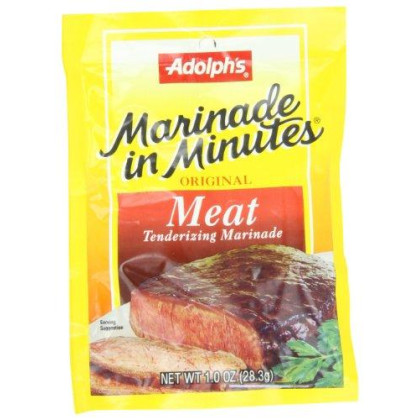 Adolph Original Meat Tenderizing Marinade, 1-Ounce (Pack of 8)