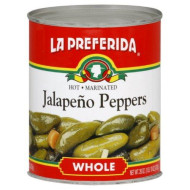 La Preferida Peppers Jalapeno, 26-Ounce (Pack of 12)