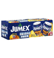 Jumex Mango(6) And  Peach (6), 11.3 Fl Oz 12 Counts