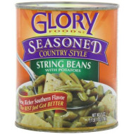Glory Foods Seasoned String Beans With Potatoes, 27-Ounce (Pack Of 6)