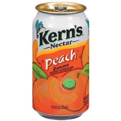 Kerns Peach Nectar, 11.5-Ounce (Pack Of 24)