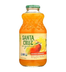 Santa Cruz Organic Mango Lemonade, 32 Ounce - 12 Per Case.