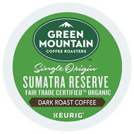 Green Mountain Coffee Roasters Sumatra Reserve single serve K-Cup pods for Keurig brewers, 96 Count