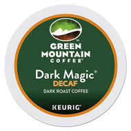 Green Mountain Coffee Roasters Dark Magic Decaf Extra Bold Coffee K-Cups, 96/carton