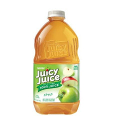 Juicy Juice Apple Juice, 64-Ounce Pet Bottles (Pack Of 8)