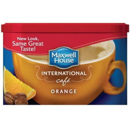 Maxwell House International Orange Cafe - 9.3 oz