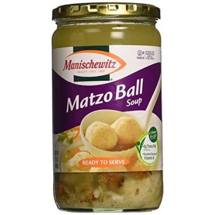Manischewitz Matzo Ball Soup Jar, 24-Ounce (Pack Of 3)