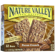 Nature Valley Crunchy Granola Bars - Pecan Crunch - 12 Count