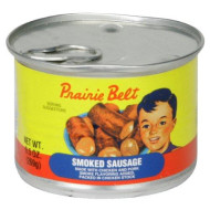 PRAIRIE BELT Smoked Sausage, 9.5 Ounce Pull-Top Can (Pack of 6) | Canned Meat | Keto Food, Keto Snacks | Low Carb High Protein Snacks | Compare to Other Brands of Vienna Sausages & Smoked Sausages